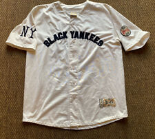 Vintage Negro League Baseball Players NLBPA New York Black Yankees Jersey Men XL