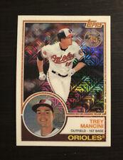 Trey Mancini 2018 Silver Pack 1983 Retro Refractor #28 Baltimore Orioles