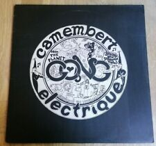 Gong LP Camembert Electrique UK Virgin 1st press BEAUTIFUL COPY & COVER FOR ONCE