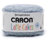 Caron Latte Cakes Yarn Blueberry Mist 530 YARDS Yarnspirations 1 BALL w/ Pattern