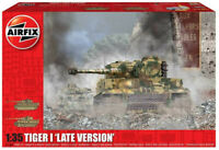 Airfix Tiger I - Late Version 1:35 Scale Plastic Model Tank Kit A1364