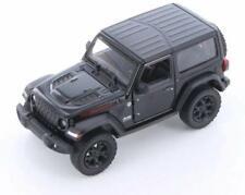 5 Inch - 2018 Jeep Wrangler Rubicon Hard Top - 1/34 Scale Diecast Model - BLACK