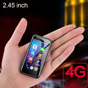 Mini 2.45 inch Touch Screen Quad Core 4G WIFI GPS Smartphone Android 7.0