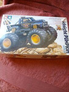 Tamiya Midnight Pumpkin Junior Monster Truck 1/32 Motorized Model Kit! Vintage!