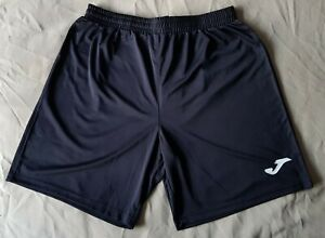 """Black Joma Sports Shorts - 28"""" to 38"""" Medium Youth Adult BNWT NEW Football"""