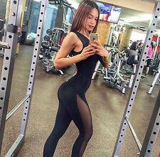 Women's Sports YOGA Workout Fitness Leggings Pants Jumpsuit Bodysuit Rompers