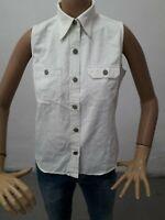 Camicia RALPH LAUREN Donna Shirt Woman Chemise Femme Taglia size 6 Cotone 8548