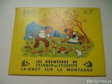 BD EO Les Aventures de Sylvain et Sylvette N°3 La-haut sur la montagne