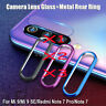 For Xiaomi Redmi Note 7 Camera Lens Glass+Metal Rear Ring Screen Protector AU jc