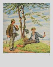 Otto Quante Poster Kunstdruck Bild Im Frühling 60x50 cm Kostenloser Versand