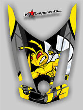 Ski-Doo REV XR1200 Custom Hood Graphic, Killer Bee Decal Sticker Skidoo