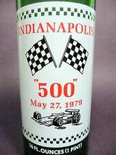 vintage ACL Soda Bottle: 1979 INDY 500 SOUVENIR of 7-UP - 16 oz VINTAGE ACL SODA