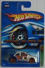 "Hot wheels – vw new beetle Cup ""t-Hunt"" Nouveau/OVP us-Card"