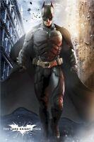 BATMAN THE DARK KNIGHT RISES MOVIE POSTER ~ BATMAN STREET 24x36 Christian Bale