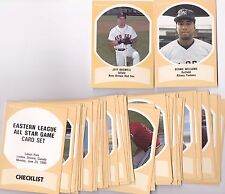 '91 ProCards Eastern League AS Minor League Set W/Bernie Williams & Jeff Bagwell