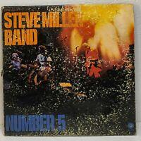 Steve Miller Band – Number 5: Capitol Records 1970 Vinyl LP Album (Rock, Blues)