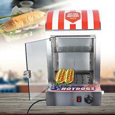 30 110 Vertical Electric Hot Dog Steamer Sausage Bun Warmer Machine 1500with110v