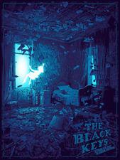 The Black Keys Boston 2019 Variant by Daniel Danger SIGNED Print Poster Art MINT