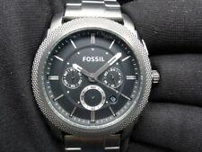 New Old Stock - FOSSIL MACHINE FS4662 - Black Dial Chronograph Quartz Men Watch