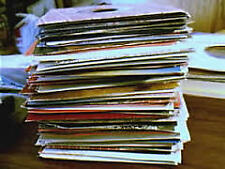Your choice of one from over 1200 singles (7 inch, 45rpm). A to N