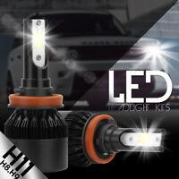 XENTEC LED HID Headlight Conversion kit H11 6000K for 2015-2016 Ford Transit-350