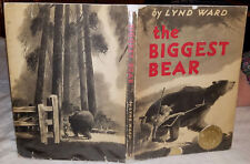 Ward, Lynd(A/I): The Biggest Bear ** Caldecott Winner ** HB/DJ 1st/Early