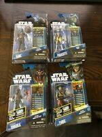 The Clone Wars Cad Bane CW13, Hondo CW39, Embo CW33, AND Cato CW37
