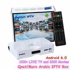 Arabox 2018 Best Arabic Europe HD IPTV Box Android 1100+ Channels Free for life!