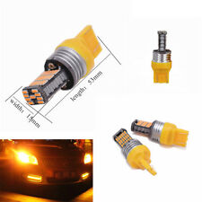 2X Car T20 7443 7440 4014 45-SMD Amber LED Bulbs for Turn Signal / Parking Light