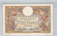 FRANCE 100 FRANCS LOM 23.2.1933 L.39359 N° 983960936 PICK 78c