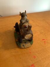 Charming Tails Figurine - Mackenzie's Putt Putt Tractor - Mouse P40