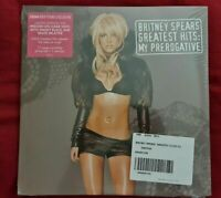 Britney Spears Greatest Hits My Prerogative 2 LP Vinyl Record Smoke Colour New