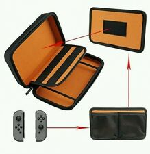 Hard EVA Portable Orange Carrying Case Bag for Nintendo Switch Travel Pouch