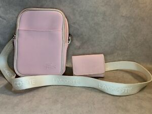 LACOSTE BAG AND MATCHING PURSE