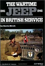 Wartime Jeep in British Service book WW2 US Army Willys MB Ford GPW Military