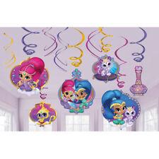 Décorations de fête violets anniversaires-enfants Amscan pour la maison