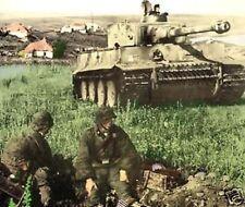 Tanque Tiger Manual Sexo alemán, cómo operar, cuidado, el arma, munición, cáscara, Fuze, Motor
