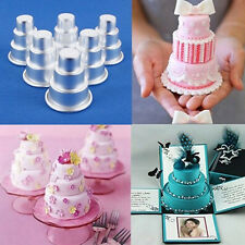 1pc 3Tier Baking Pan Tin Cupcake Mini Cake Cookie Pastry Pudding Chocolate Mould