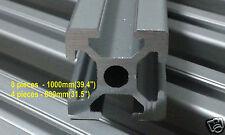 3D printer frameT-Slot Aluminum Extrusion 2020 8pcs x 1000mm 4pcs x 800mm