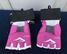 Everlast Ever Gel Workout Gloves Boxing Martial Arts pink size size M adjustable