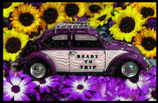 Psychedelic Mini Poster Photo Sticker Outsider Art 2x3: READY TO TRIP
