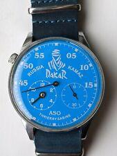 Wrist watch MOLNIJA 3602 DAKAR Racing vintage USSR 18 jewels 44 mm, hand winding