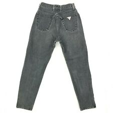 Guess Womens Vintage 80's High Waist Mom Jeans Tapered Ankle Zip 24 24x27