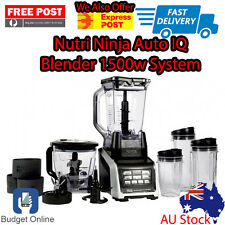 Nutri Ninja Auto IQ Blender 1500w System BL682NZ Auto IQ Technology Food Blender