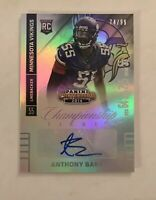 2014 ANTHONY BARR CHAMPIONSHIP TICKET AUTOGRAPH /99 MINNESOTA VIKINGS ROOKIE RC