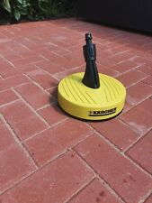 KARCHER PRESSURE WASHER PATIO CLEANER HEAD - USED BUT IN VERY GOOD CONDITION