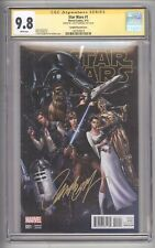 STAR WARS #1 (2015) - VARIANT COVER SIGNED BY J. SCOTT CAMPBELL - CGC 9.8