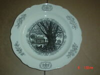 Wedgwood Collectors Plate THE GEORGE WYTHE HOUSE WILLIAMSBURG VIRGINIA