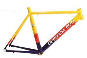 51cm Quintana Roo Tequilo TT / Triathlon Aero Bike Frame Aluminum  650c New Blem