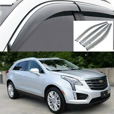 Rain Sun Wind Deflectors For Cadillac XT5 2017-2019 Car Window Visors Deflectors